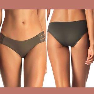 NEW$99 Vitamin A Emelia Triple Strap Bikini Bottom